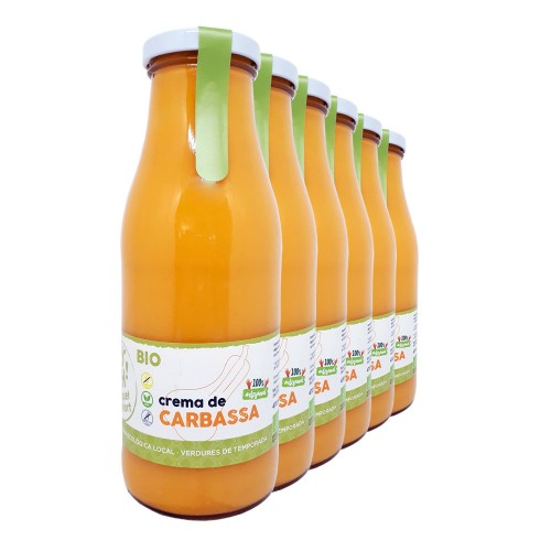 Crema de carbassa 470 ml, lot de 6 unitats