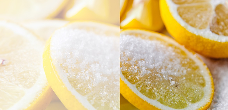 Limones confitados a la sal Bouquet d'Hort