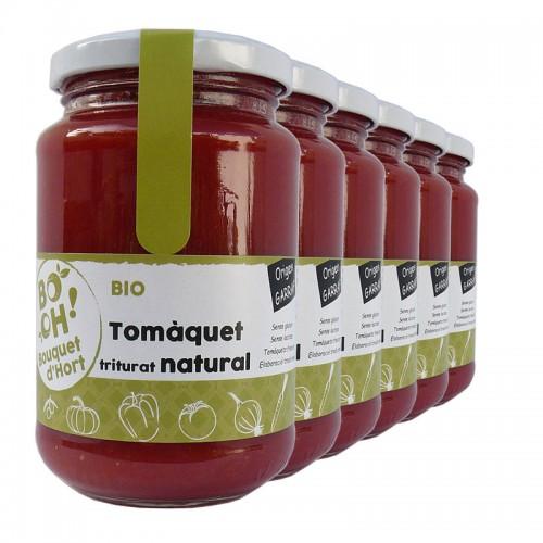 Tomate natural (Caja 6 unidades)