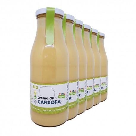 Crema de carxofa 470 ml, pack de 6 unitats
