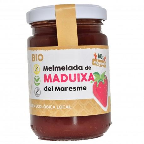 Mermelada ecológica y artesanal de fresa i manzana