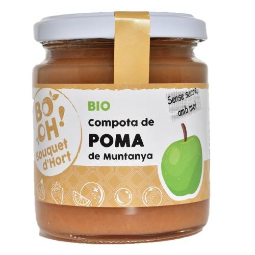 Compota de manzana ecológica Bouquet d'Hort