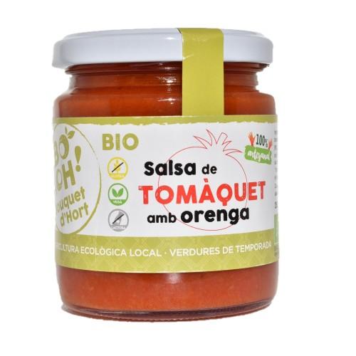 Salsa de tomate con orégano